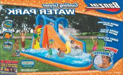 Banzai Gushing Geyser Inflatable Water Park Slide Pool Happy