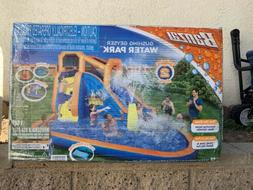 ✅Banzai Gushing Geyser Inflatable Water Park Slide Pool Ha