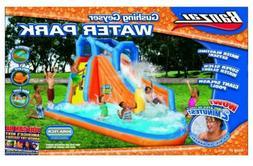 Banzai Gushing Geyser Inflatable Water Park Slide Pool-NEW I