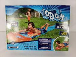 h20 go inflatable lawn water slide single