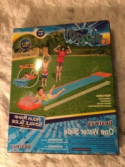 Bestway H20 Go Water Slide Aqua Ramp Double Slide, Multicolo