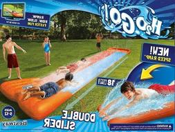 BESTWAY H2O GO 18 FT DOUBLE SLIDE BRAND NEW WITH BOX