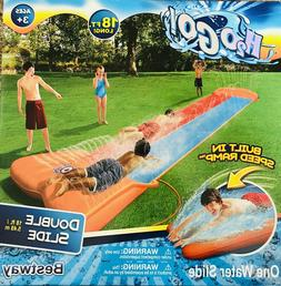 H2O GO! Aqua Ramp Double Slide**New In Box**Bestway**