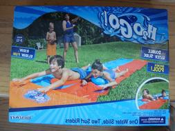 H2O GO! Double Water Slide Two Surf Riders Slip N' Slide A