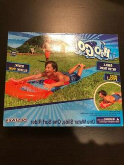 H2O Go Single Water Slide With Inflatable Drench Pool 18'