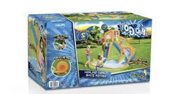 """H2OGO 12' x 10'6"""" x 8'10"""" Turbo Splash Zone Mega Water Park"""
