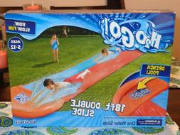 h2ogo double water slide