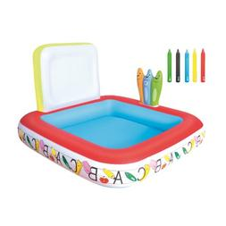H2OGO! Learn & Draw Inflatable Play Pool
