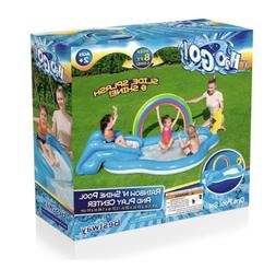 H2OGO Rainbow N Shine Play Center Kids Inflatable Swimming P
