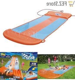 Bestway H2OGO! Triple Water Slide w/ Speed Ramp