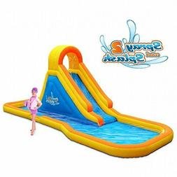 Blast Zone Hydro Rush Inflatable Water Park Waterslide and S