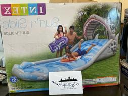 *IN HAND SHIPS TODAY* INTEX SURF 'N SLIDE INFLATABLE POOL WA