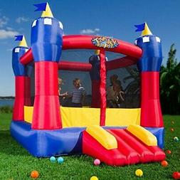 In/Outdoor Castle  Inflatable Bounce House Blower Bouncer Ju