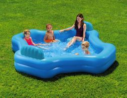 Intex Inflatable 2-Seat Swim Center Family Lounge Pool