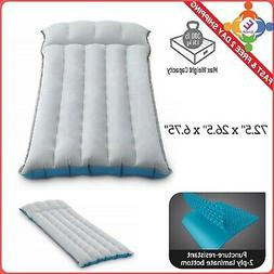 Intex Inflatable Airbed Camping Mattress Twin Size Thin Air