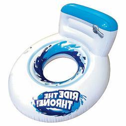Inflatable Banzai Giant Toilet Seat Pool Float - Toys - 1 Pi