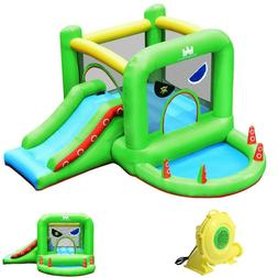 Inflatable Bounce Castle Water Slide Pool Bouncy House with
