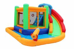 Retro Jump Inflatable Bounce Castle Waterpark Combo Kids Wat