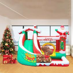 Inflatable Bounce House Castle Kids Jumper Slide Bouncer wit