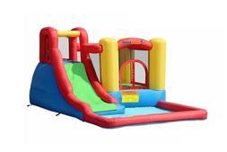 Bounceland Inflatable Bounce House Jump & Splash Adventure W