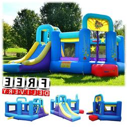 Inflatable Bounce House Slide Bouncer Blower Yard Outdoor Pl