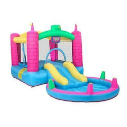 Inflatable Bounce House Slide Water Pool Jumping Castle, Air