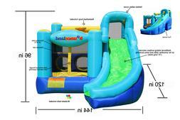 Bounceland Inflatable Bounce House Ultimate Combo Bouncer