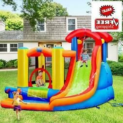 Inflatable Bounce House Water Slide Castle with Blower for K