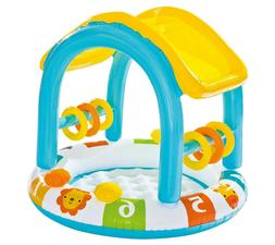 Intex Inflatable Count With Me Shaded Baby Pool - New In Box