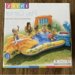 Intex Inflatable Dinosaur Play Swimming Pool Center With Vol