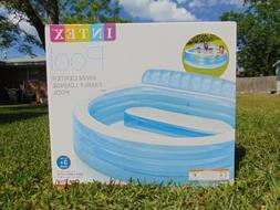 """Intex Inflatable Family Lounge Pool 90"""" - Blue"""