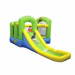 Inflatable Kids Bounce House Outdoor Water Slide And Jump Ra