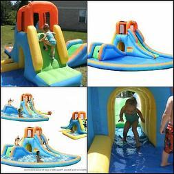 Inflatable Kids Water Slide Park Outdoor Large Splash Pool B