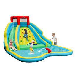 Inflatable Mighty Water Slide Park Bouncy Splash Pool Climbi