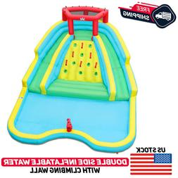 inflatable mighty water slide park bouncy splash