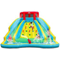Inflatable Mighty Water Slide Park Bouncy Splash Pool Entert