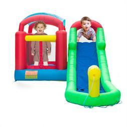 inflatable moonwalk water slide pool bounce house