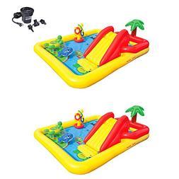 Intex Inflatable Ocean Play Center Kids Backyard Pool  + Air
