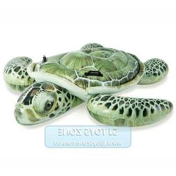 Intex Inflatable Ride On - Realistic Sea Turtle Lounge Float