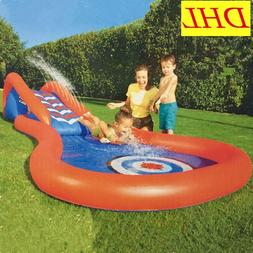Inflatable Slide Pool Sports Swimming Pool Large-Scale Outdo