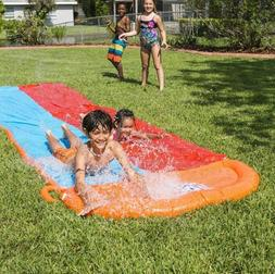 Inflatable Slip And Slide H20 go Backyard For Kids Water And