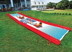 Inflatable Slip n Slide Water Slide for Backyard Kids and Ad