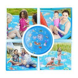 Inflatable Splash Sprinkler Pad for Kids Toddlers Dogs Kiddi
