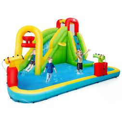 Inflatable Splash Water Bounce House Jump Slide Bouncer Kid