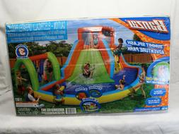 inflatable summit splash adventure kiddie pool slide