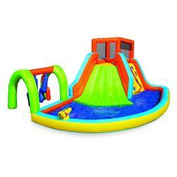 Banzai Inflatable Summit Splash Adventure Splash Kiddie Pool