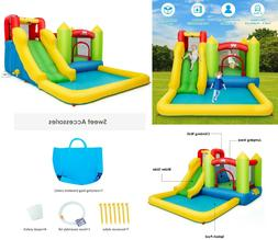 Inflatable Water Park Slide Jump Bouncer Play Pool Bounce Ho