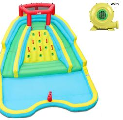 inflatable water park splash adventure water slide