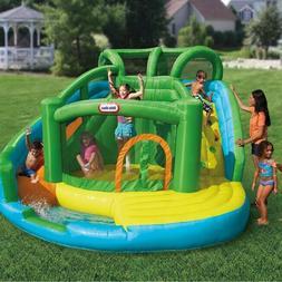 inflatable water slide 2 in 1 wet