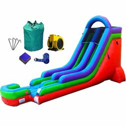 18-Foot Retro Inflatable Water Slide, Wet or Dry, Commercial